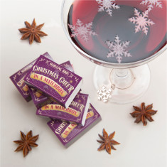 Festive Mulled Wine Gift Set In A Matchbox