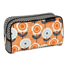 Vintage print toiletry bag