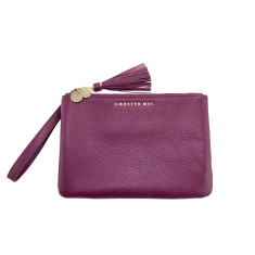 The Mia Pouch - plum