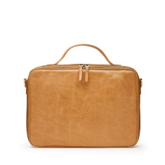 Unisex Leather The Perfect  Laptop Bag