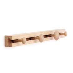 Applicata Track coat rack - small (oak, smoked oak, stained oak)