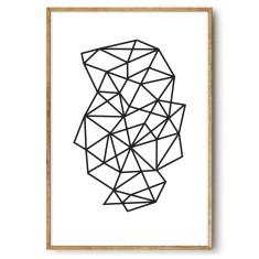 Prism wall art print