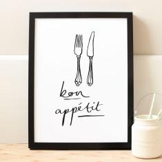 Bon Appétit Print