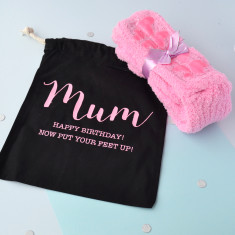 Slipper Sock Personalised Gift Set