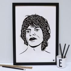 Mick Jagger print