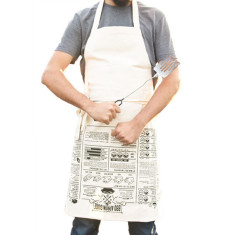 Suck UK bbq apron cooking guide