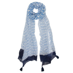 Blue bliss scarf