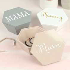 Personalised Stackers Geometric Trinket Box