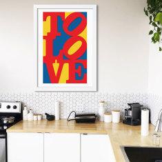 To Love Typographic Print