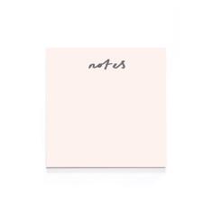 Blush Pink Memo Pad