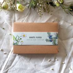 Box Set of 10 Botanical Writing Card with Envelopes