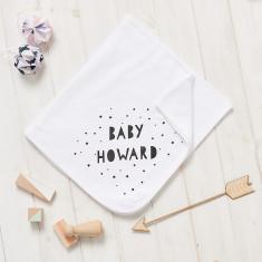 Personalised Baby Shower Blanket