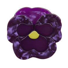 Erstwilder playful pansy brooch