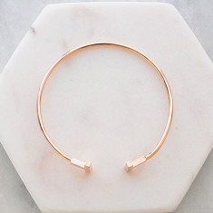 Always bangle in rose gold
