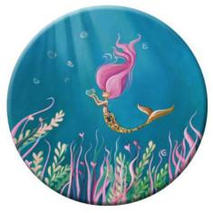Little mermaid pocket mirror
