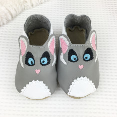 Personalised Bush-Baby Baby Shoes