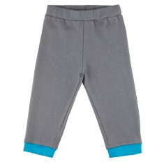 Grey relaxed-fit baby pants