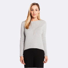 Anise Sweater in Grey Marle