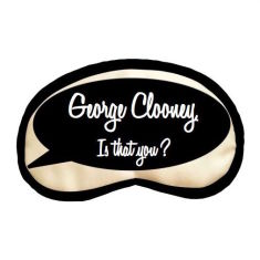 George Clooney, is that you sleep mask