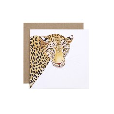 Leopard Greeting Card (pack of 5)