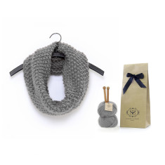 Make Your Own Beginner Mateusz Snood Knitting Kit