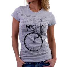Cognitive therapy women's t-shirt in grey