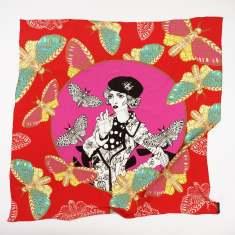 Baroness silk scarf