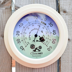 Garden Flowers Thermometer