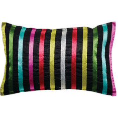 Pencil stripes cushion