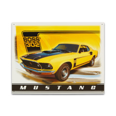 Ford Mustang Boss Sign