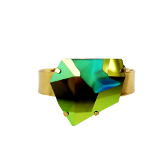 Kaputt Cuff in Swarovski Crystal