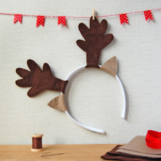 Make Your Own Reindeer Antlers Craft Kit