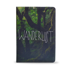 Wanderlust Naturalistic iPad Tablet Folio Case