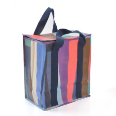 Insulated picnic bag in monarch print