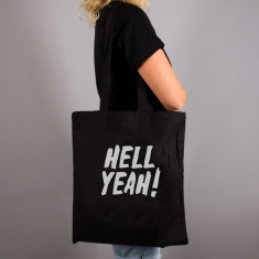 Hell Yeah Quote Tote Bag