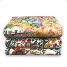 Whimsical Liberty Hankie Bundle of 3