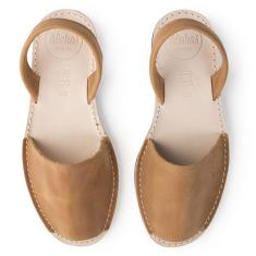 Alohas Tan Leather Sandals