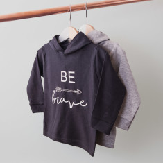 Personalised Be Brave Children's Hoodie