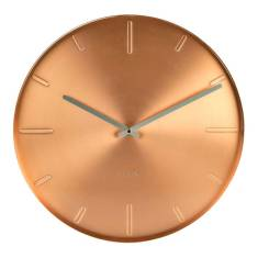 Wall Clock Belt Copper by Karlsson