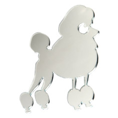 Oscar the Poodle Brooch