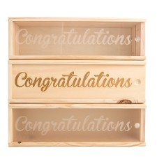 Congrats #4 Wine Box