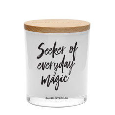 Seeker Of Everyday Magic Candle