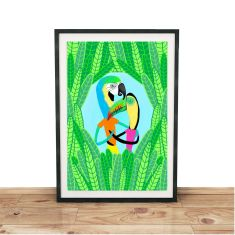 Into the Jungle Giclee Print