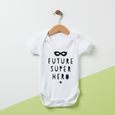 Future Super Hero Babygrow