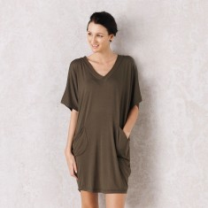 Bomba Tunic In Olive Green