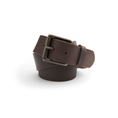 B40 leather belt in brown