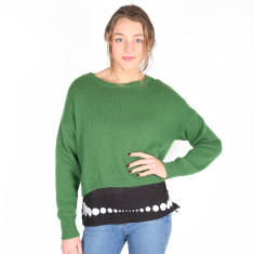 Go Anywhere Mohair Knit Sweater - Green