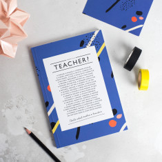 Teacher Poem Notebook