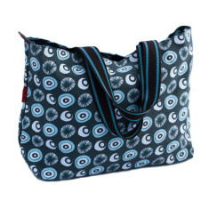 Tamelia cotton canvas Seed tote bag