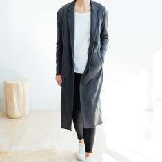 Everyday Duster in Charcoal